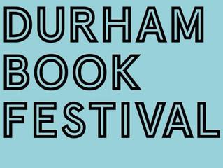 Durham Book Festival (14/10/17)
