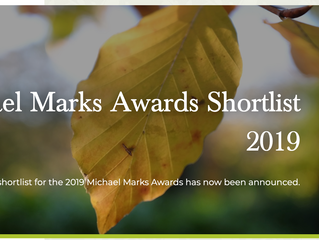 Lantern shortlisted for the Michael Marks Award