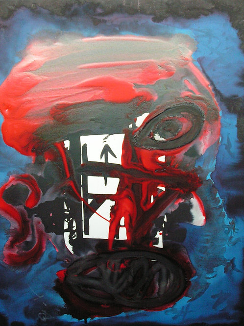 Pintura - Máscara africana