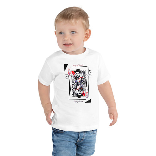 Toddler Short Sleeve Tee - Poet Fernando Pessoa - B&W Design