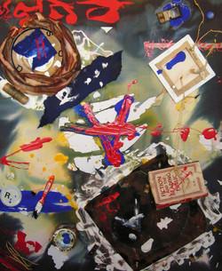 "Painting - ""Beginning of Language"""