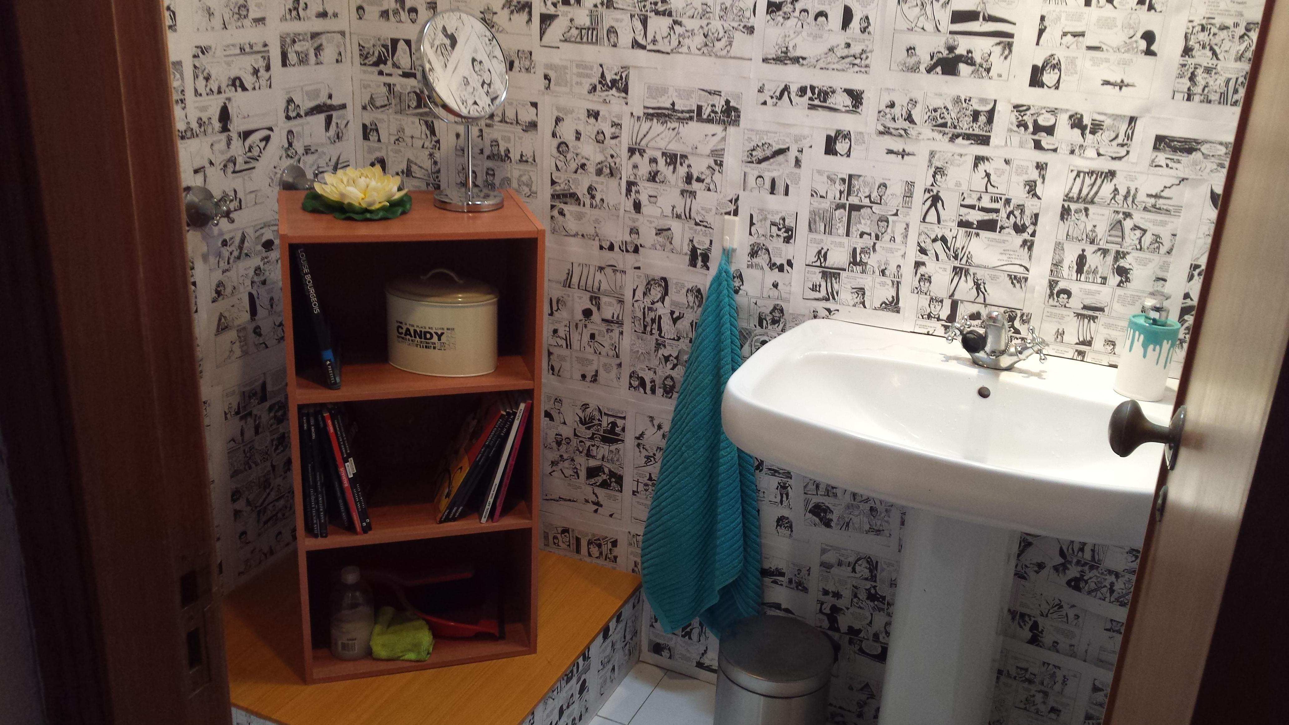Bathroom in front of Art Studio