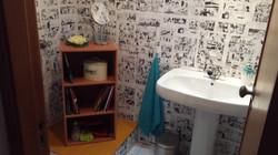 Casa de banho de apoio ao estúdio