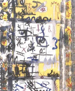 """Abstract Painting - """"Rain Man"""""""