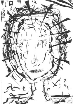 A2 B&W Drawing