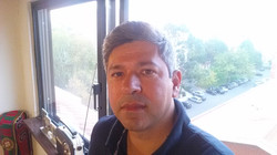 Francisco Capelo e a vista - estúdio