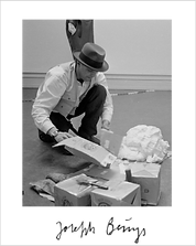Fluxus Artist Joseph Beuys