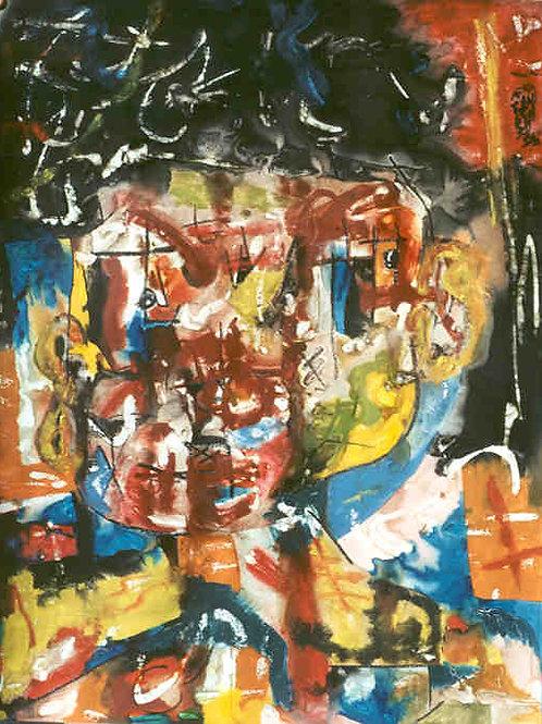 Pintura - Homem comum