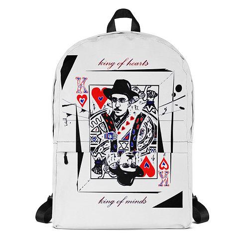 Backpack - Poet Fernando Pessoa - B&W Design