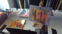 At the Carcavelos Art Studio