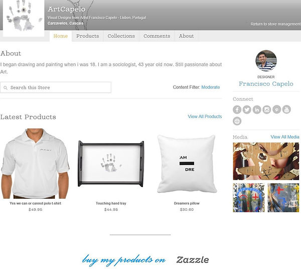 My art products on Zazzle