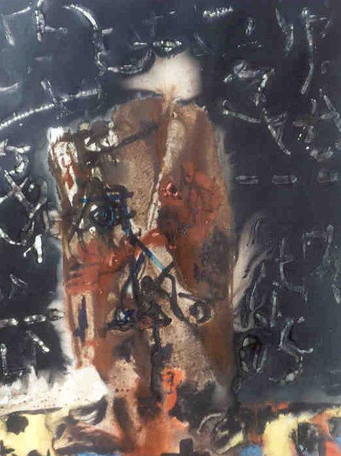 Pintura - Homem das cavernas