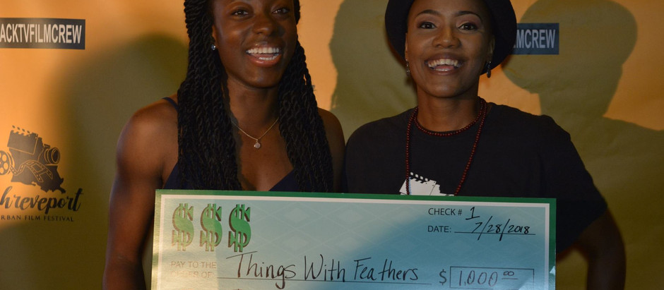 Things With Feathers Takes Home the Grand Prize at the First Ever Shreveport Urban Film Festival.