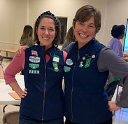 We love our Girl Scout Volunteers!