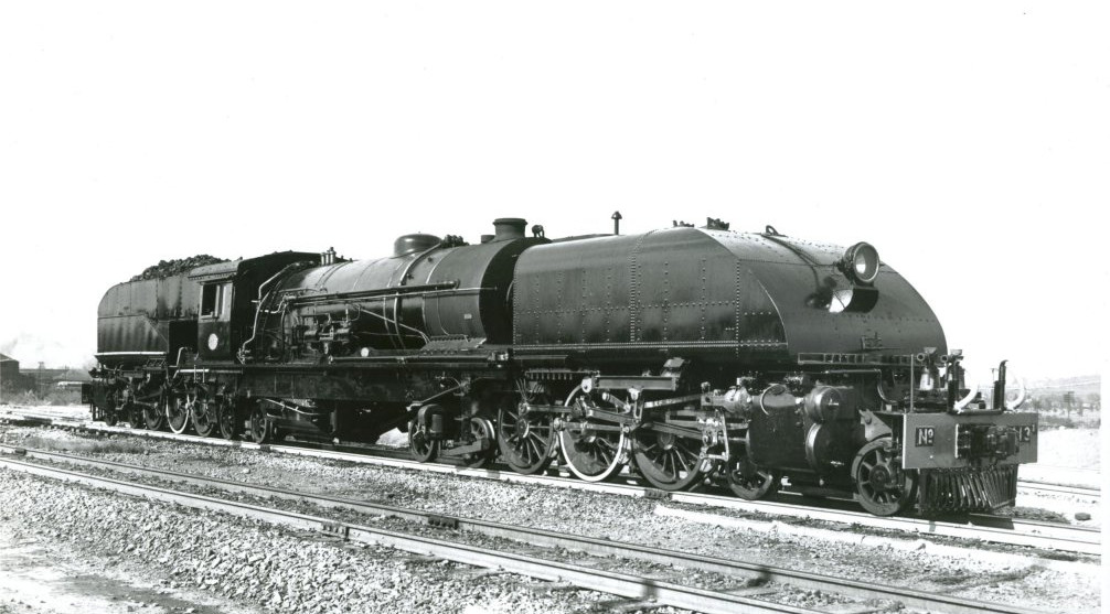 Rhodesian Railways Steam Engine on Franc