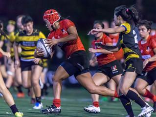 「畢馬威女子欖球超級聯賽」 KPMG Women's Premiership 猛虎Tigers煞科鬥華利Valley   下區盟主即將誕生
