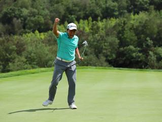美巡系列賽-中國第六站       昆明錦標賽收杆      中國香港球員楊慕天Motin Yeung(24歲)三人延長賽勝出  贏職業首冠軍
