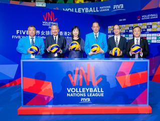 「FIVB 世界女排聯賽香港2019」正式開鑼 意⼤利及中國取得香港站⾸場勝利