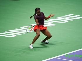 2018 WTA Finals Singapore 紅组球員成績接近 末段才能分出勝負 史堤芬絲STEPHENS以無敵姿態出線 貝頓絲BERTENS則以兩勝一負次名晉級