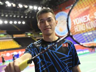 【YONEX-SUNRISE 香港公開羽毛球錦標賽2018】 伍家朗:期望在主場球迷前做齣好戲