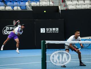 2020澳網外卡賽中國男雙取得開門紅,日韓刮起青春風暴