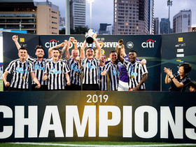 Newcastle United retain HKFC Citi Soccer Sevens title after beating Rangers in final thriller