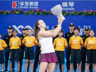 """2019橫琴人壽珠海WTA超級精英賽 2019 Hengqin Life WTA Elite Trophy Zhuhai 圓滿收官 華發見証珠海網球""""第一個五年"""""""