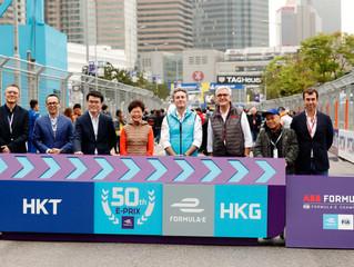2019香港電訊香港電動方程式大賽 2019 HKT Hong Kong E-Prix 峰迴路轉 布特發生碰撞被罰衛冕失敗  莫他拿首次奪得賽事冠軍