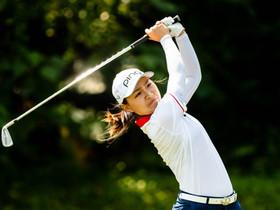 第五屆「盈豐香港女子高爾夫球公開賽」 次圈賽事  中國球員杜墨含繼續狀態大勇  兩日打出低標準桿10桿的成績穩守榜首位置