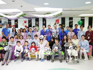 傑志再度惠澤社群 聖誕探訪基督教聯合醫院