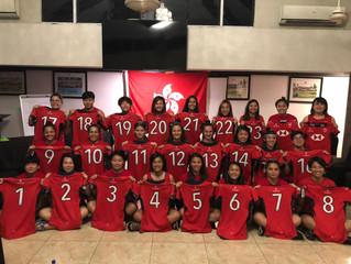 香港女子十五人欖球代表隊 「亞太三角賽」第二回火拚薩摩亞