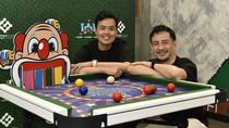 香港著名桌球手傅家俊聯乘本地著名設計師梁慶紀合作研發     全球首張組合式兒童桌球遊戲枱CUE Games正式登場