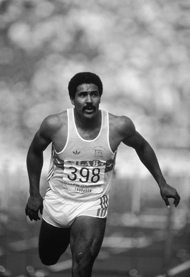 Daley Thompson, former Olympic, Commonwealth and World Champion Decathlete
