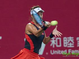 廣州網球公開賽八強賽 王薔橫掃對手 四號種子出局