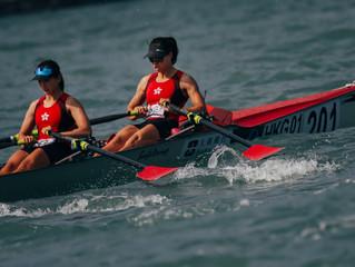 大新銀行呈獻「2019世界海岸賽艇錦標賽」明天舉行決賽 港隊成功晉身五個項目獎牌賽 李嘉文、李婉賢爭海岸女子雙人雙槳艇獎牌