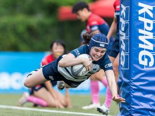 「畢馬威女子欖球超級聯賽」 KPMG Women's Premiership 之季後總決賽四強戰 港會HKFC冀成華利Valley絆腳石