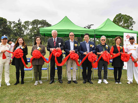 CHK Cricket Centre in Kwai Tsing officially opened