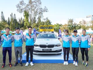 BMW i Runners 星級跑手 蓄勢待發 迎戰渣馬