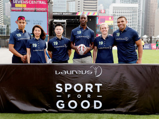 LAUREUS LEGENDS CELEBRATE CHARITY PARTNERSHIP WITH HONG KONG RUGBY UNION AND LAUNCH FIRST ASIAN 'MOD