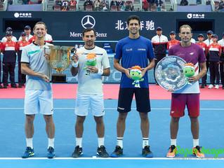 中國網球公開賽China Open男雙決賽Men's Double Final 多迪格DODIG / POLASEK組合力克衛冕冠軍  大師賽后再奪冠