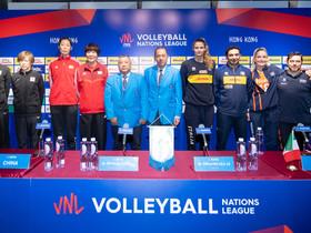 「FIVB世界女排聯賽香港2019」 賽前記者招待會