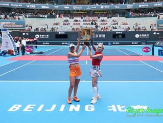 中網China Open女雙Women's Doubles 馬泰克Bethanie MATTEK-SANDS (USA)/肯寧Sofia KENIN (USA)力克 奧斯塔彭科Jelena OSTAP