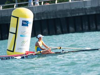 大新銀行呈獻「2019世界海岸賽艇錦標賽」首日賽事 世界一級賽艇好手雲集維港角逐
