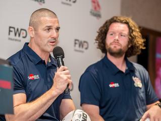 大灣區首支職業欖球隊正式成軍 富衛華南虎對Global Rapid Rugby 球季虎視眈眈   英格蘭超級聯賽「得分王」雲戴爾(Tom Varndell) 、2016年里約熱內盧奧運會金牌得主維域域
