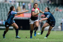 HKG Womens 7s captain Natasha Olson Thorne v Guam
