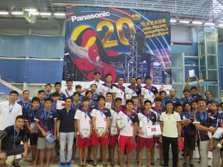 Panasonic第二十屆亞太區水球賽 比賽圓滿結束 港隊穿金戴銀