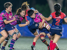 「畢馬威女子欖球超級聯賽」 KPMG Women's Premiership 鳳凰Phoenix技壓蘇格蘭人HK Scottish