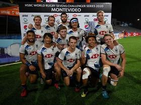 「滙豐世界七人欖球系列賽」之「挑戰者系列賽」 HSBC World Rugby Sevens Challenger Series第二站 港隊奪烏拉圭站季軍