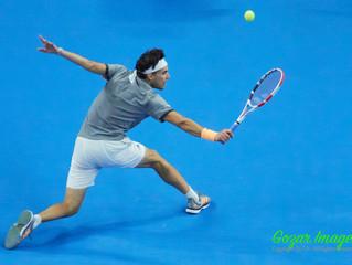 蒂姆Dominic THIEM (AUT)苦戰三盤逆轉卡恰諾夫Karen KHACHANOV (RUS)  生涯首進中網男單決賽