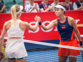 「保誠香港網球公開賽2018」 2018 Prudential Hong Kong Tennis Open  10月13日每日精華